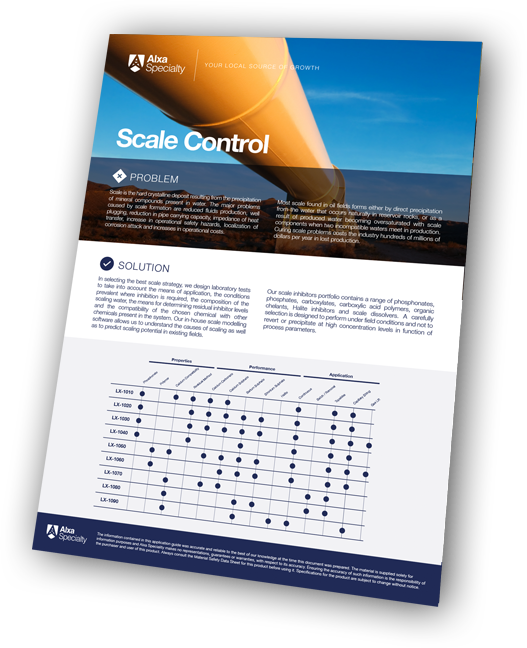 Scale control