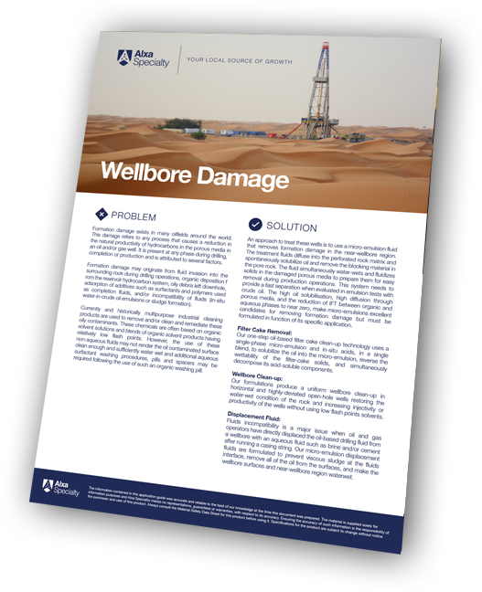 Wellbore damage